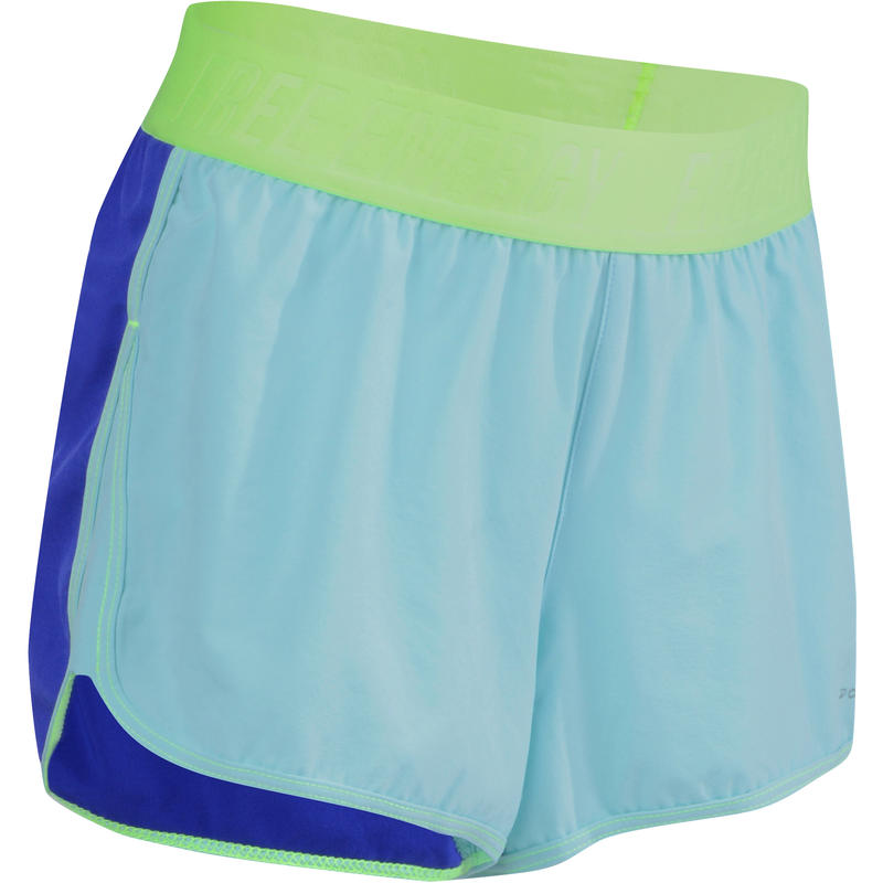 c086e47ef3eb9 All Sports>Kids' Educational Gymnastics>Educational Gymnastics Girl's  Apparel>Shorts>Energy Girls' Shorts - Blue