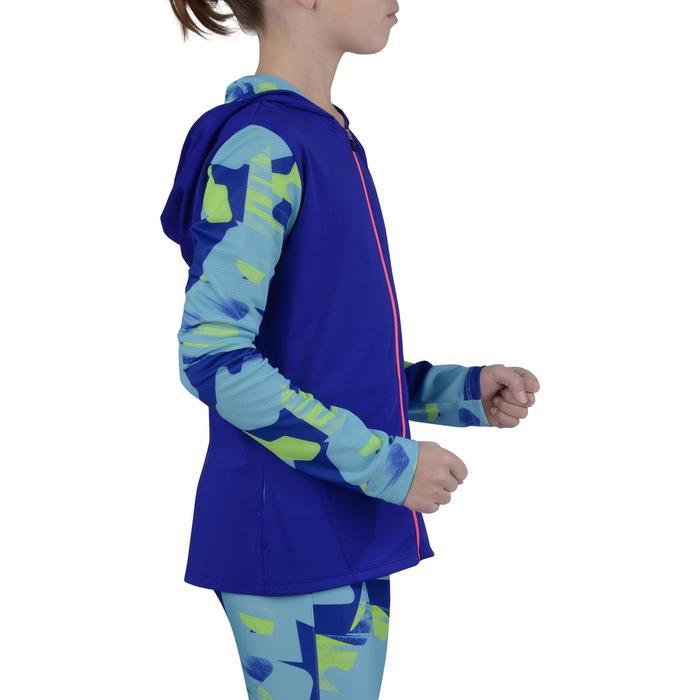 Veste zippée capuche Gym Energy fille - 1194328