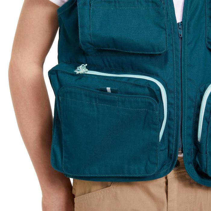 Gilet pêche-1 Junior blue - 1194452