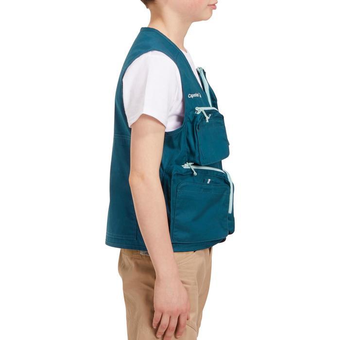 Hengelvest - 1 Junior blauw