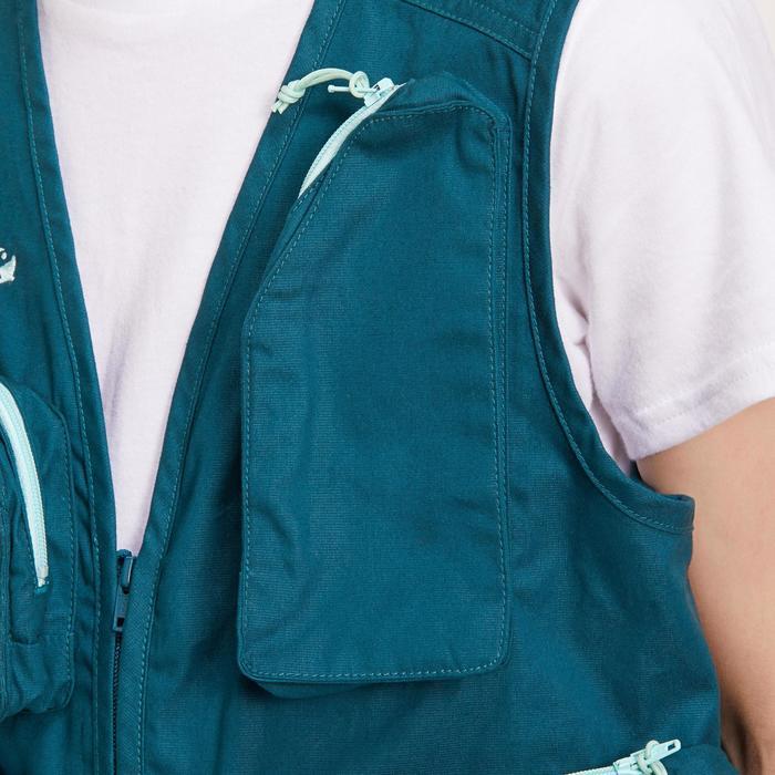 Gilet pêche-1 Junior blue - 1194460