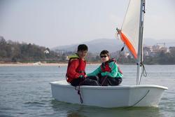 Winddichte spraytop 100 zwaardboot/catamaran, voor kinderen - 1194582