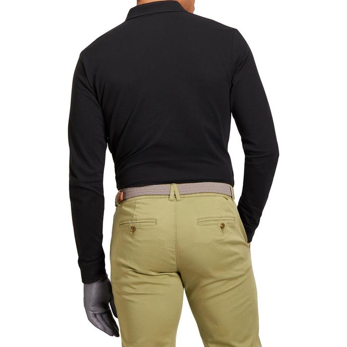 POLO MANCHES LONGUES GOLF HOMME 500 chiné - 1194696