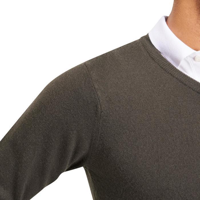 Golf-Pullover 100 Herren grau