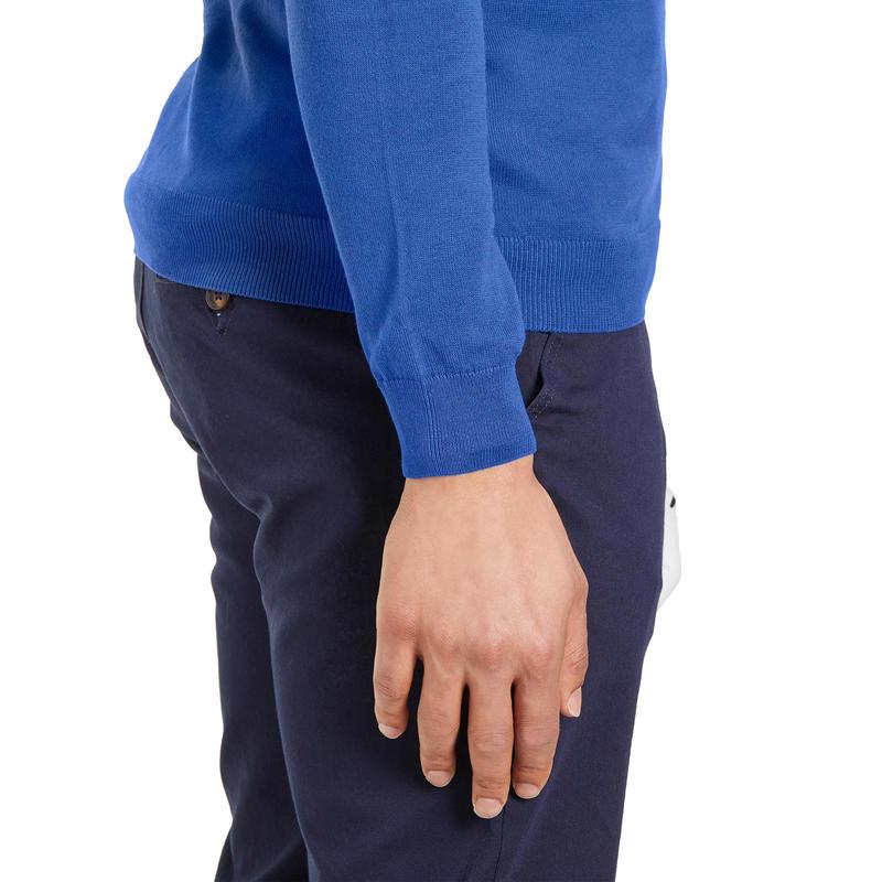 Men's Golf Pullover 500 - Blue