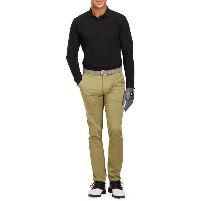 POLO MANCHES LONGUES GOLF HOMME 500 chiné - 1194808