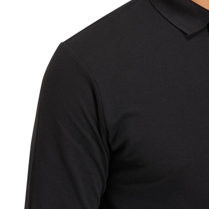 POLO MANCHES LONGUES GOLF HOMME 500 chiné - 1194833