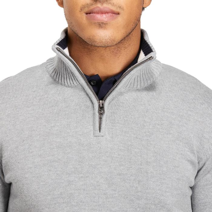 MEN'S NAVY COLD-WEATHER GOLFING PULLOVER - 1194879