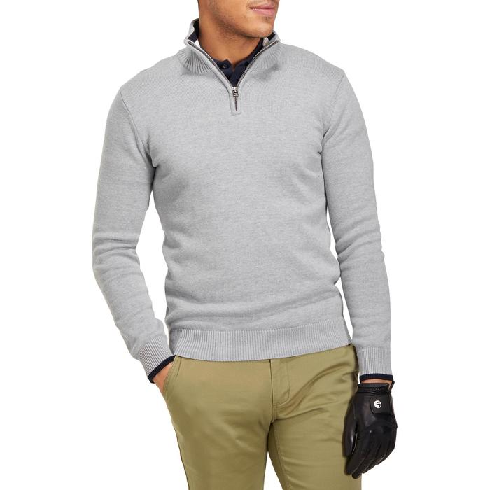 MEN'S NAVY COLD-WEATHER GOLFING PULLOVER - 1194914