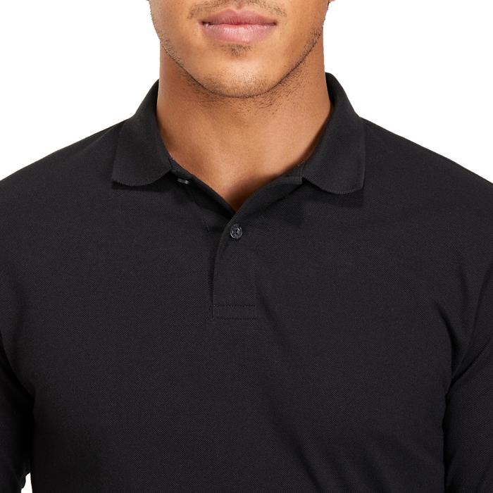 POLO MANCHES LONGUES GOLF HOMME 500 chiné - 1194967
