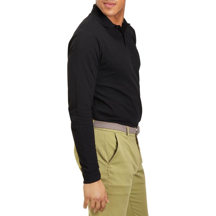 POLO MANCHES LONGUES GOLF HOMME 500 chiné - 1194972