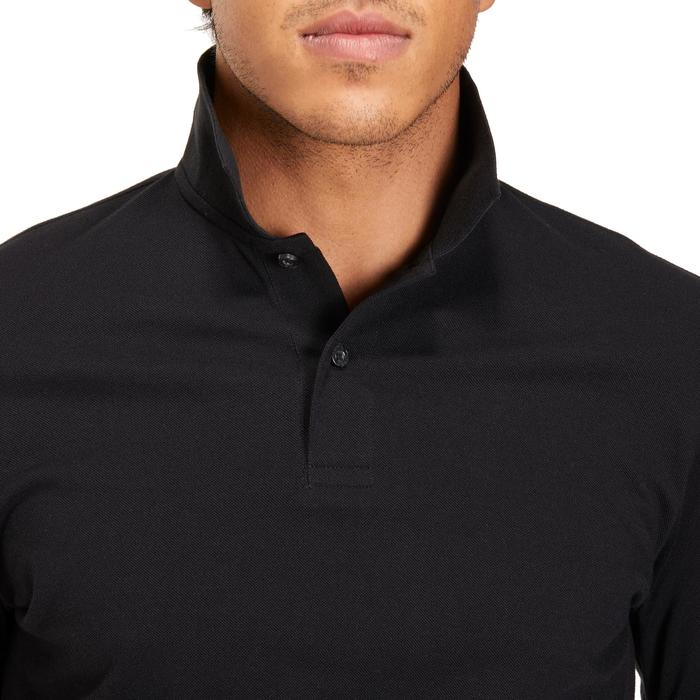 POLO MANCHES LONGUES GOLF HOMME 500 chiné - 1194974