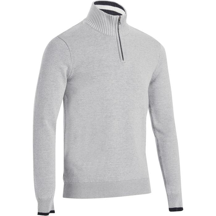 540 男士高爾夫運動衫 - 淺灰
