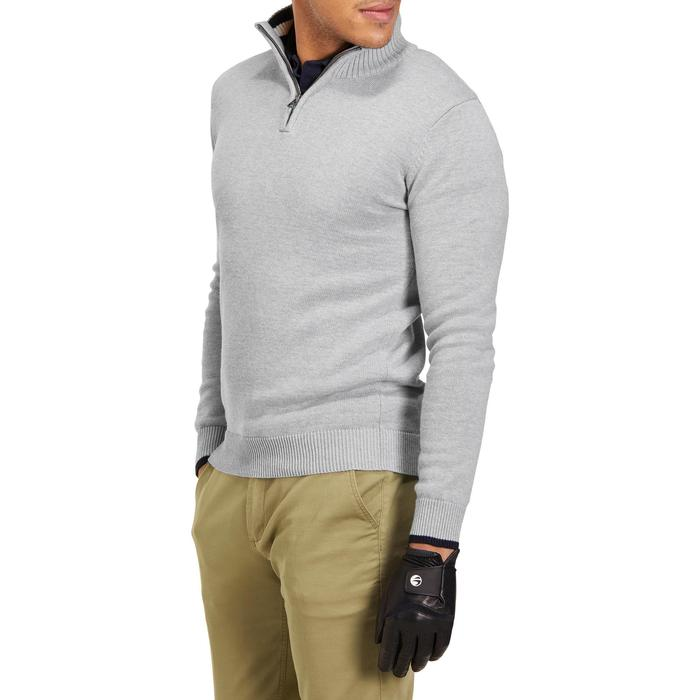 MEN'S NAVY COLD-WEATHER GOLFING PULLOVER - 1195092