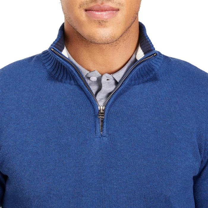 PULL GOLF TEMPS FROID MARINE POUR HOMME - 1195102
