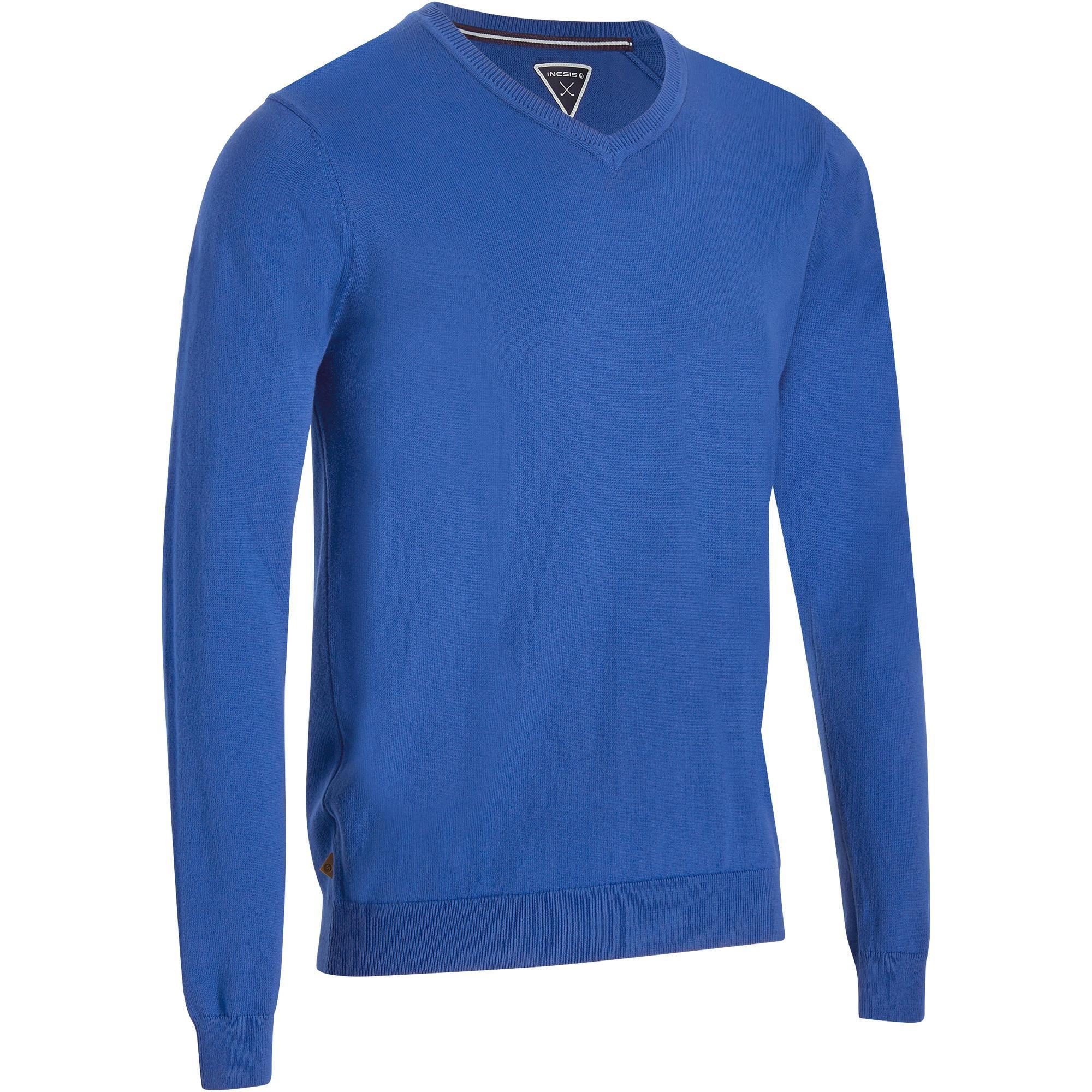 inesis pull golf homme 500 chiné decathlon