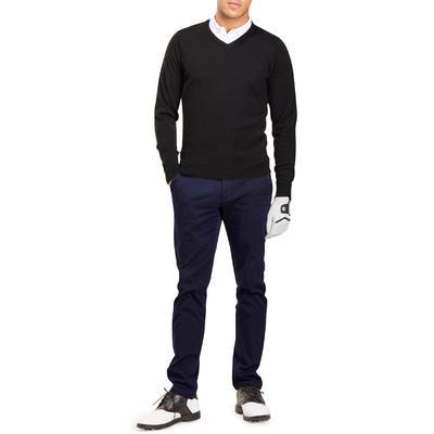 100 Men's Golf Sweater - Black