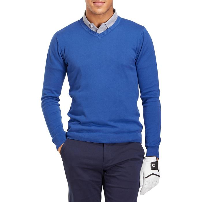 PULL GOLF HOMME 500 chiné - 1195203