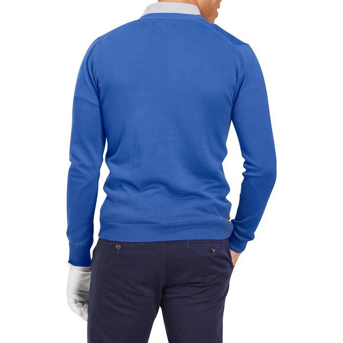 Golftrui 500 voor heren blauw