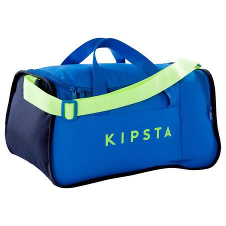 f5abce0025 Sac de sports collectifs Kipocket 20 litres bleu jaune