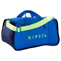 Bolsa de deportes colectivos Kipocket 20 litros azul amarillo