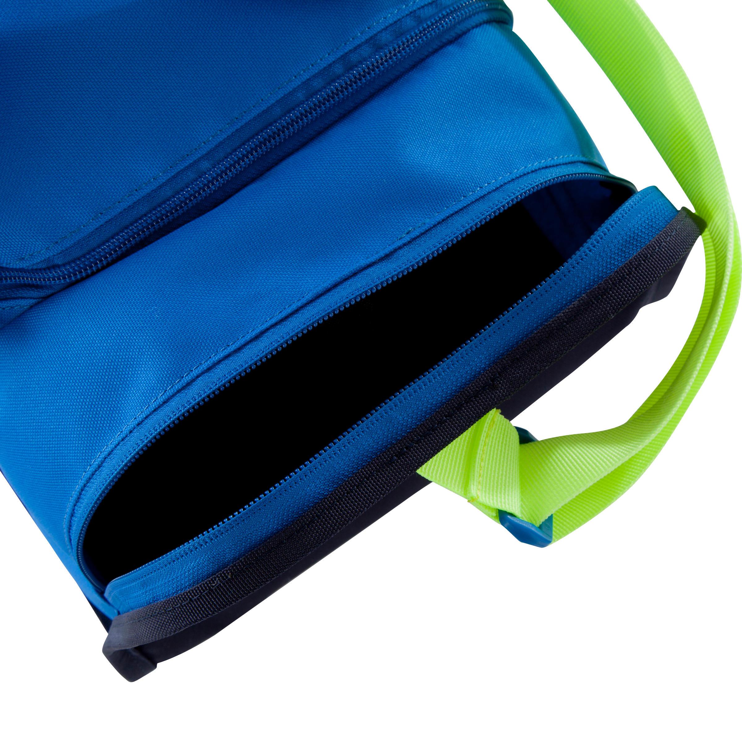 Kipocket Team Sports Bag 20 Litres - Blue/Yellow