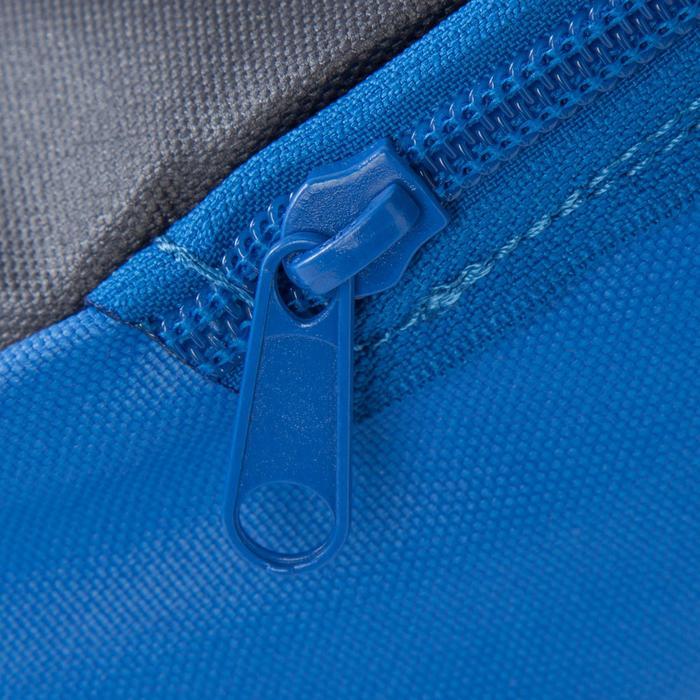 Sac de sports collectifs Kipocket 20 litres bleu jaune