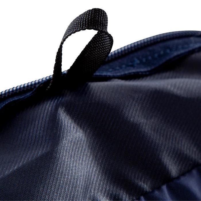 Bolsa deportes colectivos Kipocket 40 litros azul amarillo