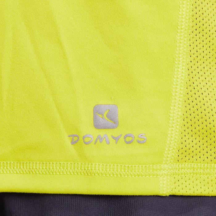 T-shirt fitness cardio homme noir imprimé FTS 120 - 1195380