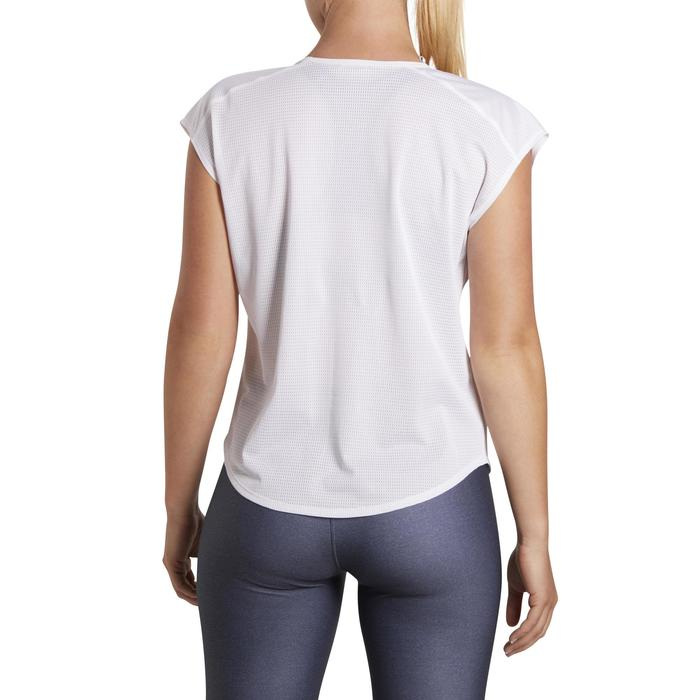 T-shirt loose fitness cardio femme avec imprimés 120 Domyos - 1195403
