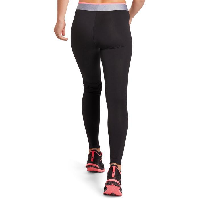 Mallas Leggings Deportivos Cardio Fitness Domyos 100 mujer negro