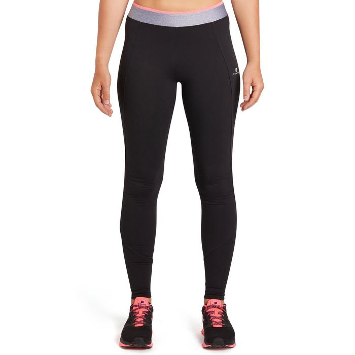 100 Women's Cardio Fitness Leggings - Black - 1195418