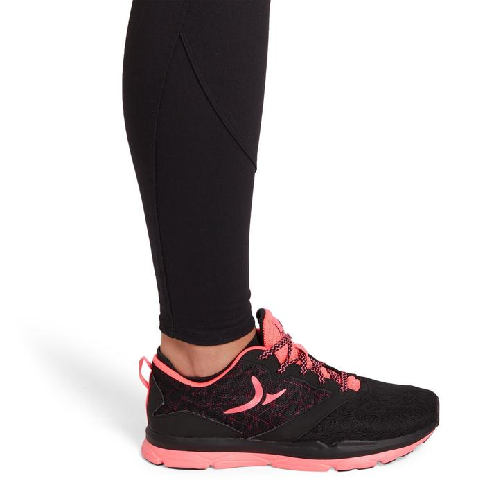 100 Women's Cardio Fitness Leggings - Black - 1195460