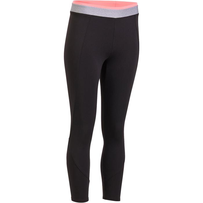 100 Women's 7/8 Cardio Leggings - Black - 1195489