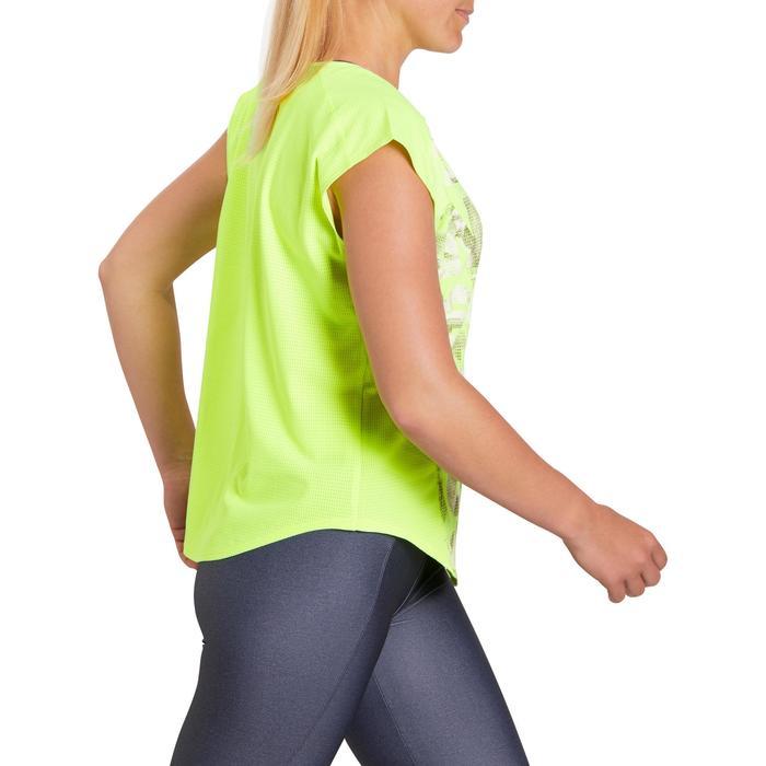 T-shirt loose fitness cardio femme avec imprimés 120 Domyos - 1195507