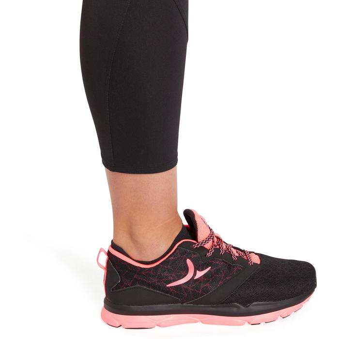 100 Women's 7/8 Cardio Leggings - Black - 1195512