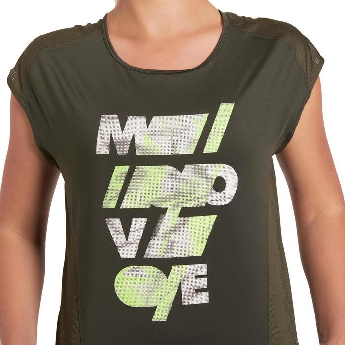 T-shirt loose fitness cardio femme Energy - 1195517