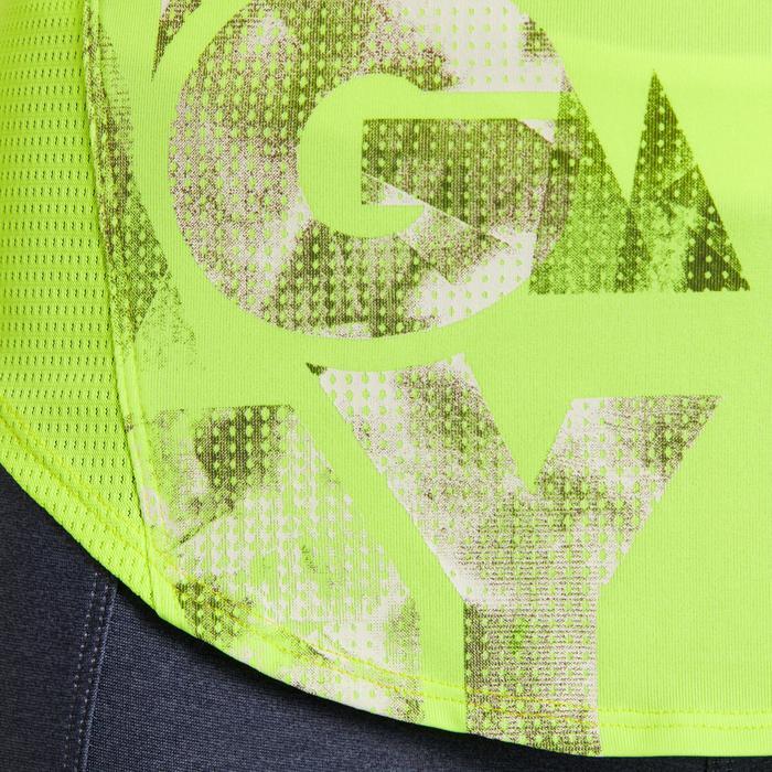 T-shirt loose fitness cardio femme avec imprimés 120 Domyos - 1195520