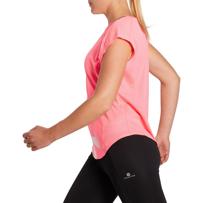 T-shirt loose fitness cardio femme avec imprimés 120 Domyos - 1195539