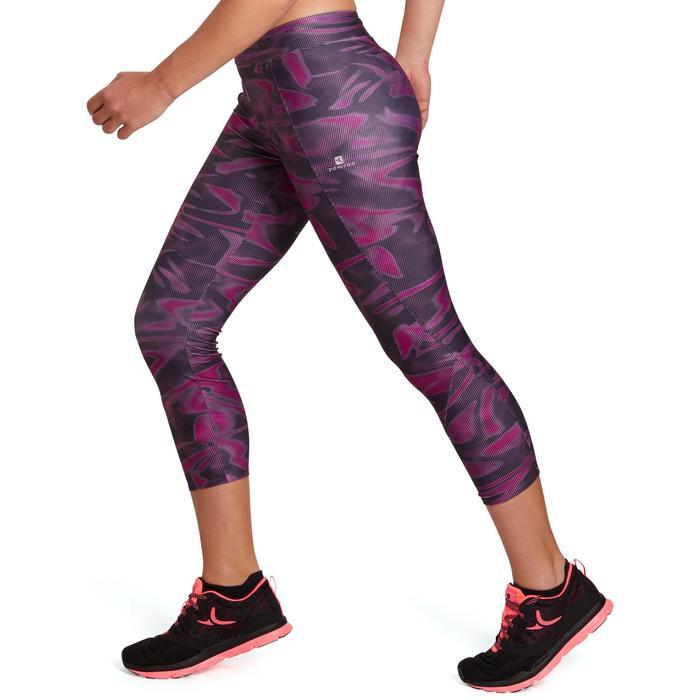 Legging 7/8 fitness cardio-training femme 100 - 1195541