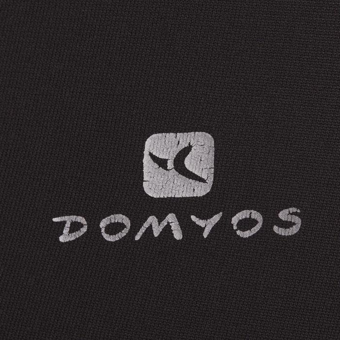 Mallas Leggings Deportivos 7/8 Cardio Fitness Domyos 100 mujer negro