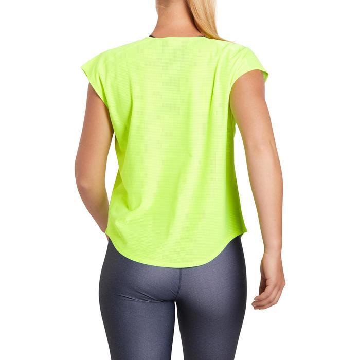 T-shirt loose fitness cardio femme avec imprimés 120 Domyos - 1195559