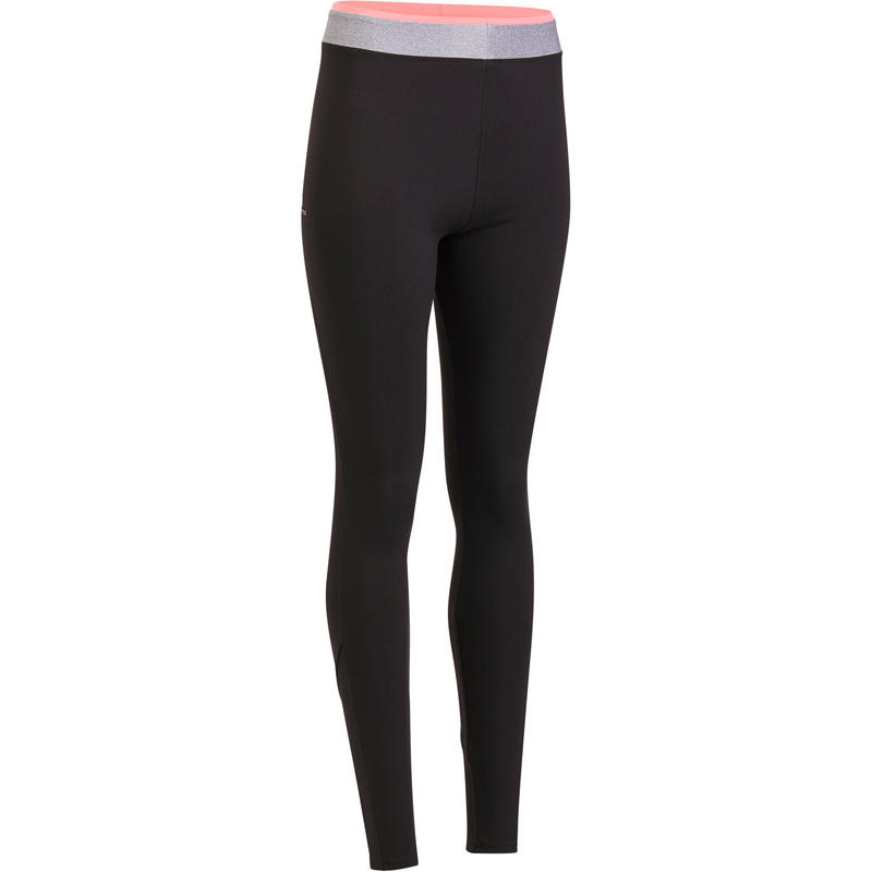 ef40a77a90782f All Sports>Fitness Cardio>Fitness Cardio Clothes>Women Clothes>Fitness  Leggings, Suit>100 Women's Cardio Fitness Leggings - Black