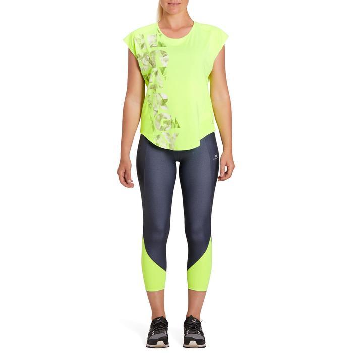 T-shirt loose fitness cardio femme avec imprimés 120 Domyos - 1195612
