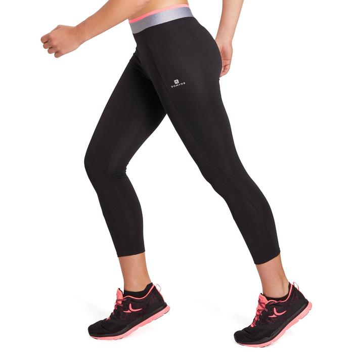 100 Women's 7/8 Cardio Leggings - Black - 1195666