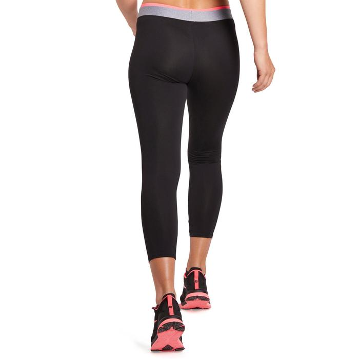 100 Women's 7/8 Cardio Leggings - Black - 1195705