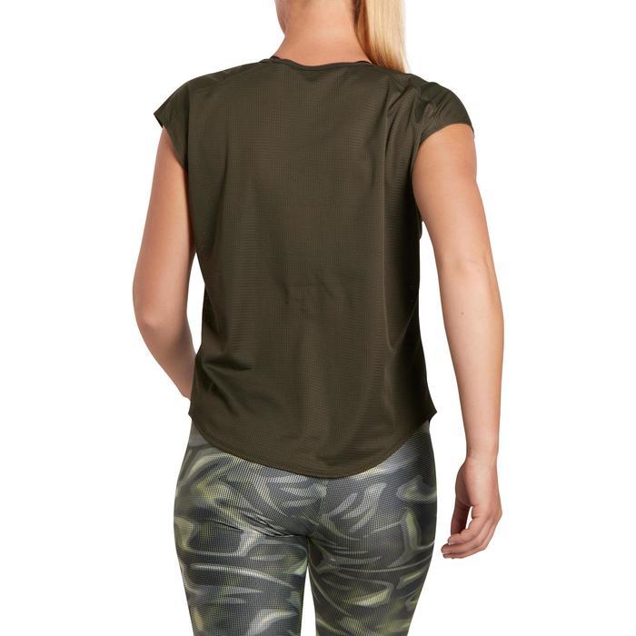 T-shirt loose fitness cardio femme avec imprimés 120 Domyos - 1195768