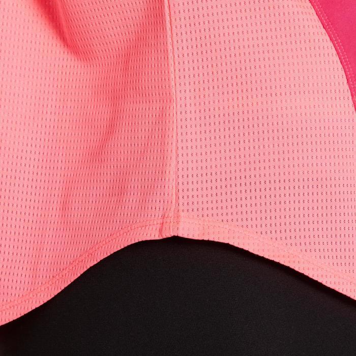 T-shirt loose fitness cardio femme avec imprimés 120 Domyos - 1195796