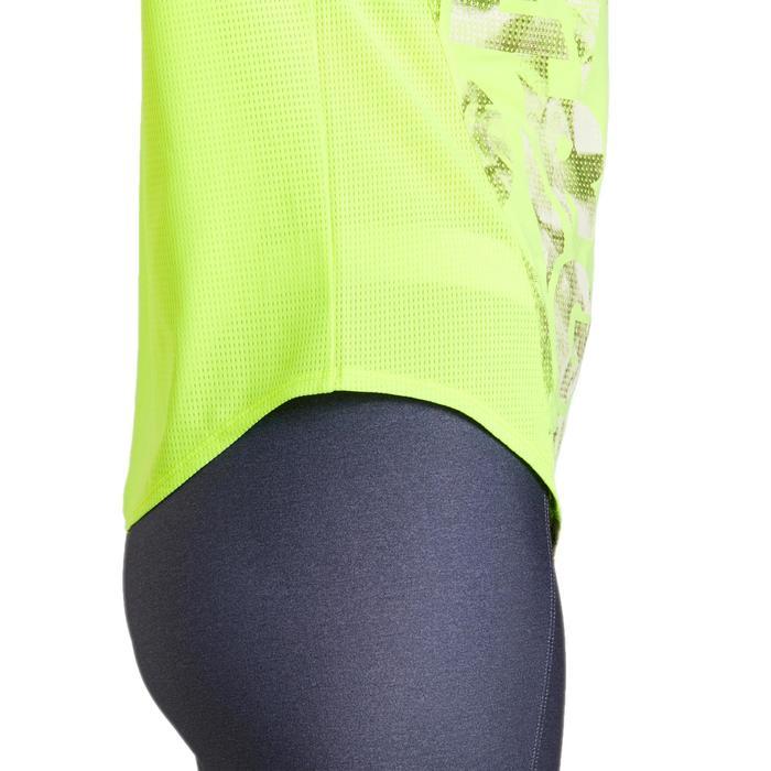 T-shirt loose fitness cardio femme avec imprimés 120 Domyos - 1195829