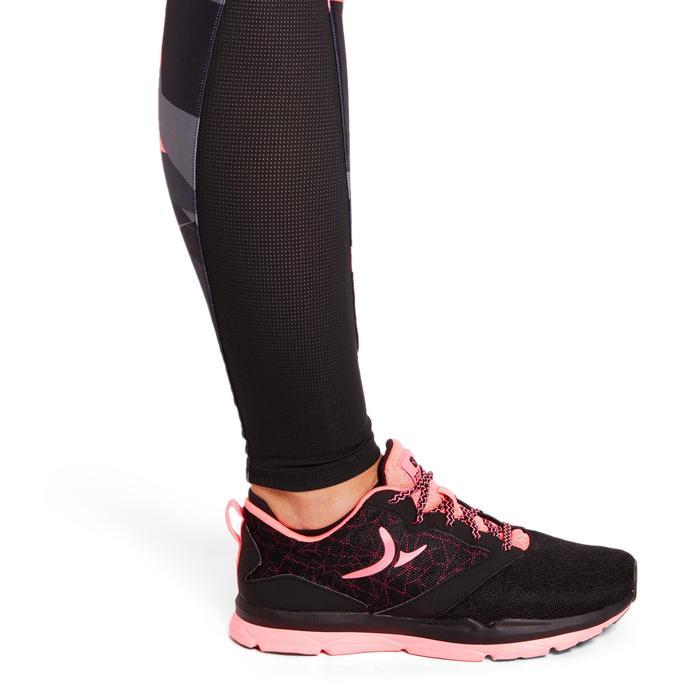 Energy+ 女性有氧健身運動印花緊身褲 - 粉紅